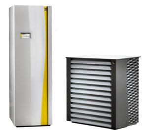 Тепловой насос воздух-вода + бойлер ГВС IDM iPump А 3-11 (11 кВт)