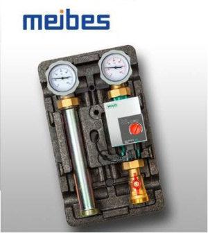 Насосная группа Meibes D-MK 1 1/4″ с насосом Wilo Stratos PICO 30/6, подача слева