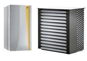 Тепловой насос воздух-вода + 30% ГВС IDM SLM 3-11 HGL (12.79 кВт)
