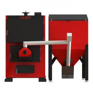 Промышленный пеллетный котел KRAFT Prom F 99 кВт