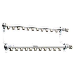 Коллектор для отопления на 11 контуров Rehau HLV