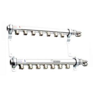 Коллектор для отопления на 7 контуров Rehau HLV