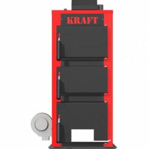 Твердотопливный котел Kraft K 12 кВт с автоматикой
