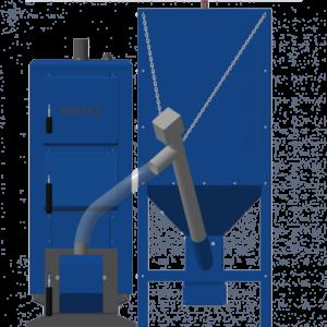 Пеллетный котел Неус Пеллет 19 кВт