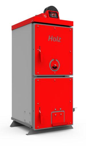 Твердотопливный котел Heiztechnik HOLZ PLUS 13 кВт с автоматикой и вентилятором