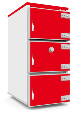 Промышленный твердотопливный котел Heiztechnik Q Max Plus DR 250 кВт